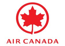 Air Canada logo royalty ilustracja