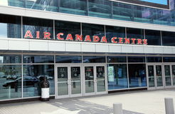 Air Canada mitt Arkivbild