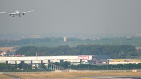Air Canada näherndes Boeing 787 stock video footage