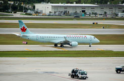 Air Canada passenger jet Royalty Free Stock Images