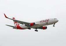 Air Canada Rouge Stock Photos