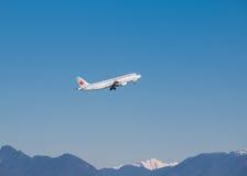 Air Canada samolot Obrazy Stock