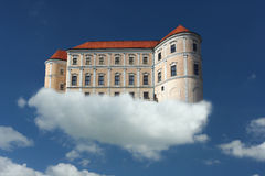Air castle royalty free stock photography
