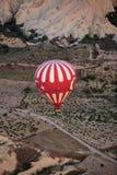 Air chaud Baloon au-dessus de Cappadocia Photographie stock