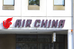 Air China Foto de Stock Royalty Free
