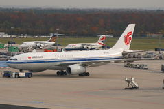 Air China A330 Imagem de Stock Royalty Free
