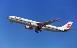 Air China Airbus A330-300 Fotografia de Stock Royalty Free