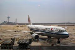 Air China Airbus A320 Sharklets neo fotografie stock libere da diritti