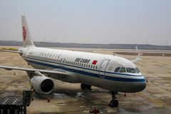Air China Airbus A320 Sharklets neo immagini stock