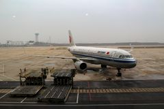 Air China Airbus A320 Sharklets neo fotografie stock