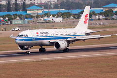 Air China Airlines plane Royalty Free Stock Photos