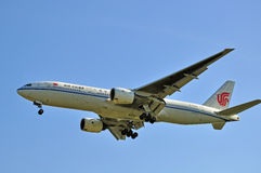Air China airplane Stock Photography