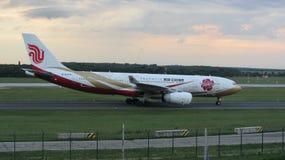 Air China A330 B-6075 Zijin Hao Livery imagen de archivo