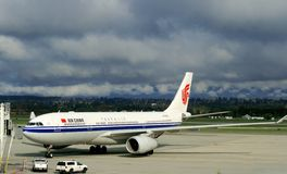 Air China Boeing Imagem de Stock