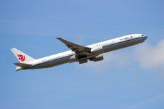Air China Boeing 777 Zdjęcia Royalty Free