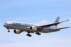 Air China Boeing 777 Imagens de Stock