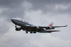Air China Boeing 747-400 Fotos de Stock Royalty Free