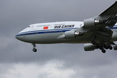 Air China Boeing 747-400 Imagem de Stock