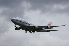 Air China Boeing 747-400 Royalty Free Stock Photos