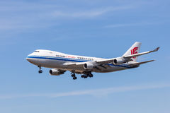 Air China Cargo Boeing 747-400 F Fotografering för Bildbyråer