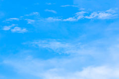 Air clouds in the blue sky. Stock Photography