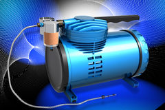 Air Compressor Stock Photography