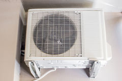 Air compressor of an air conditioning system Royalty Free Stock Image