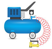Air compressor Royalty Free Stock Image