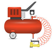 Air compressor Royalty Free Stock Photos