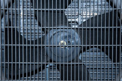 Air Compressor Fan. Used Air Compressor new Fan Royalty Free Stock Image