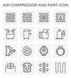 Air compressor icon vector illustration