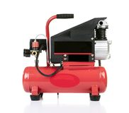 Air compressor pressure pump tool isolated Stock Images