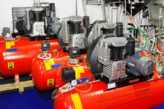 Air compressors Stock Photos