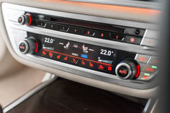 Air con controls Royalty Free Stock Image