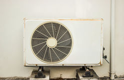 Air condition box. Build Your Own Air Conditioner with a Box Fan and Using Air conditioning Stock Photography