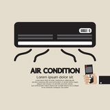 Air Condition Graphic. Vector Illustration royalty free illustration