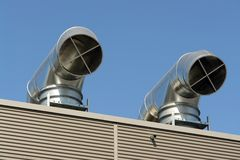 Air condition outlets Stock Photos