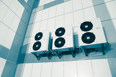 Air condition system outdoor unit Royalty Free Stock Photography