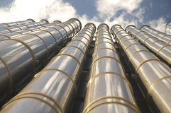 Air-condition tubes Stock Photo