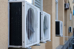 Air condition. On the wall of hospital Royalty Free Stock Photography