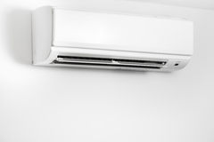 Air condition wall split system Royalty Free Stock Image