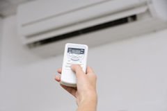 Free Air Conditioner Royalty Free Stock Photo - 18980855
