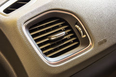Air conditioner. In a car Royalty Free Stock Image