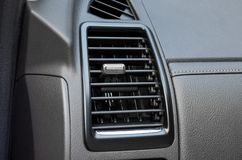 Air conditioner in car. / part of a car Royalty Free Stock Photo