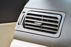 Air conditioner in the car. Stock Images