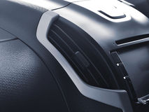 Air conditioner in car. Close up air conditioner in car Royalty Free Stock Photos