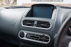 Air conditioner in car. Air conditioner in compact car stock photography