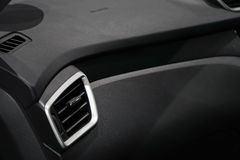 Air conditioner in car. Inside Air conditioner in car Stock Images