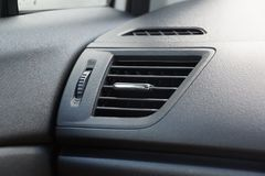 Air conditioner in car Royalty Free Stock Photo