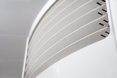 Air conditioner closeup background Royalty Free Stock Image